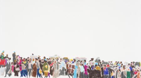 S/T. 3. Frontera. Lápices de colores sobre papel. 21 x 29,7. Año 2015